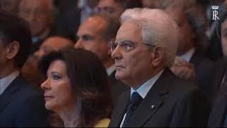 Mattarella all'Assemblea Generale di Confindustria