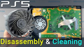PS5 disassembly and dขst cleaning. How to fix PlayStation 5 overheating