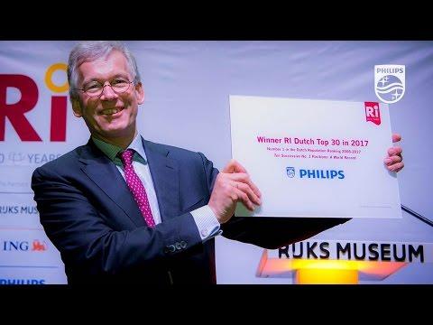 Philips winnaar reputatieprijs 2016 in Nederland
