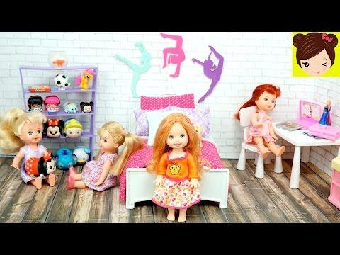 La Bebe de Frozen Ana Tiene nuevo Cuarto de Niña Grande -  Manualiades para Barbies