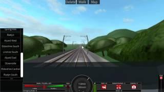 ROBLOX HD: Driving a TGV Duplex on Terminal Railways