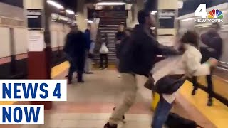 Man Arrested in Brutal Caught On Camera Subway Shove | News 4 Now