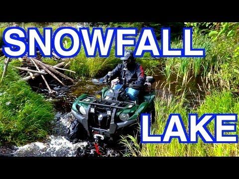 No Snow At Snowfall Lake? - Exploring New Ground On The ATV's - Sept. 8 2013