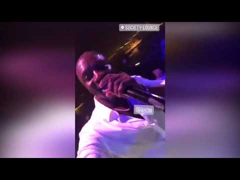 Akon Live Performance at Hilton Doha 2018