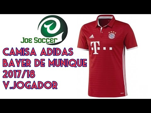 Camisa Bayer de Munique Home 16/17 - JoeSoccer Unboxing