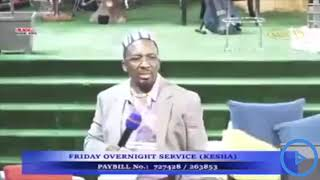 Pastor Ng'ang'a threatens his bishops for not respecting his wife