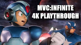 Marvel vs Capcom Infinite 4K Playthrough