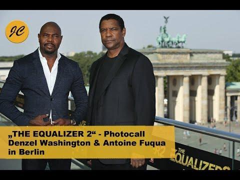 THE EQUALIZER 2 - Photocall / Denzel Washington Und Antoine Fuqua In Berlin   JayCarpet