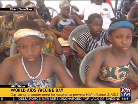 World AIDS Vaccine Day - AM Show on Joy News (18-5-17)