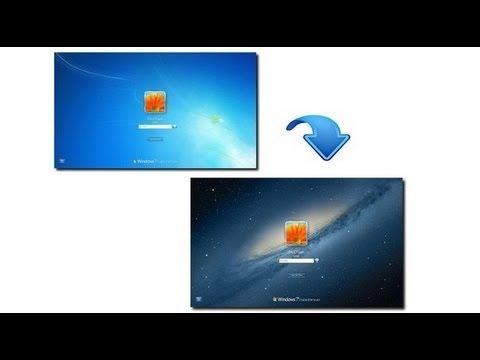 Изменение картинки приветствия! на Windows 7!