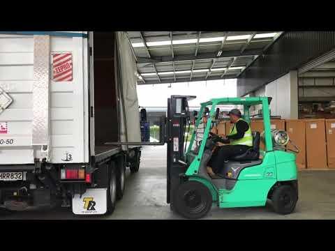 VISA Global Logistics Auckland Office Walk Through