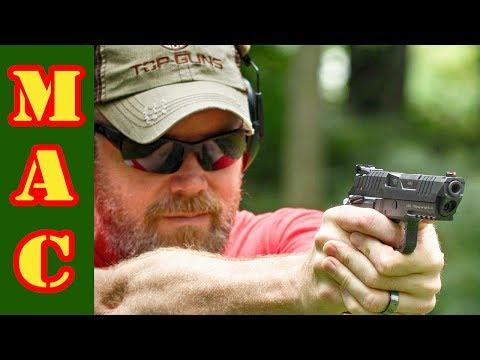 AREX Rex Alpha 9mm Competition Pistol