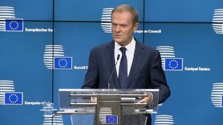 EU's Tusk says reports of Brexit deadlock 'exaggerated'