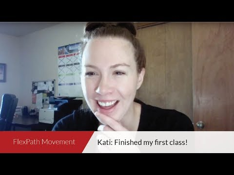 FlexPath Movement | Kati: Finished my first class!