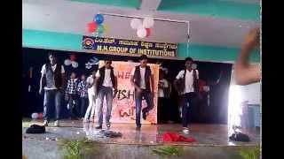 MH GROUP OF INSTITUTIONS RAMNAGAR  Grand welcome  to Ist PU students