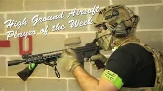 """High ground Airsoft Player of the Week: Grant """"Salter"""" from Night Hawk Airsoft"""