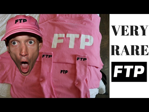 PINK FTP SHIRTS?? DROP DATE + MORE. FUCK THE POPULATION