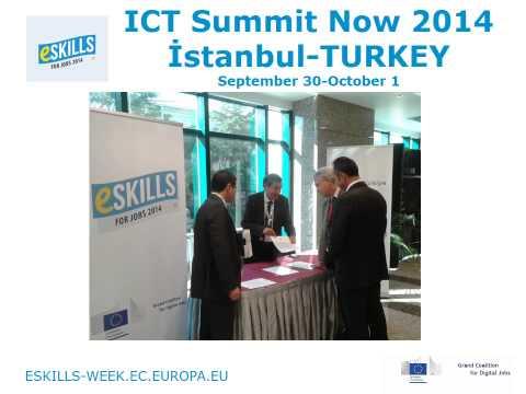 eSkills for Jobs 2014 - Turkey Digital Turkey Platform