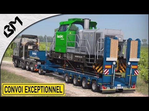 Euro Truck Simulator 2 - Le Convoi de l'extrême... ULTIME (Heavy Cargo)