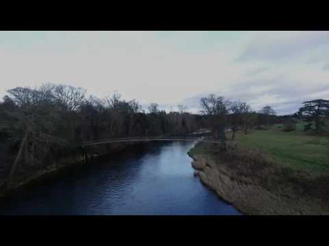River Tweed & Mertoun House, Scottish Borders