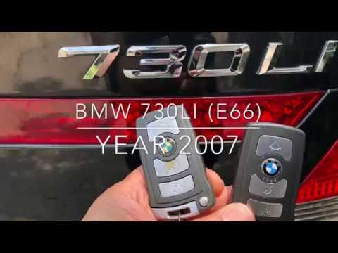 Program smart remote BMW 730Li E66 with VVDI2 Presented by Pollert