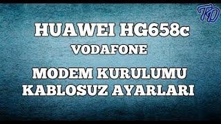 Huawei HG658c Vodafone Modem Kurulumu