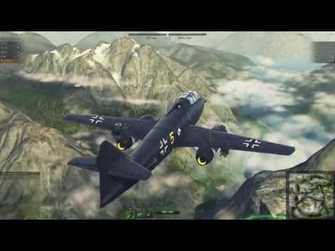 World of Warplanes: Patch 1.7 The New German Ground Attack Line