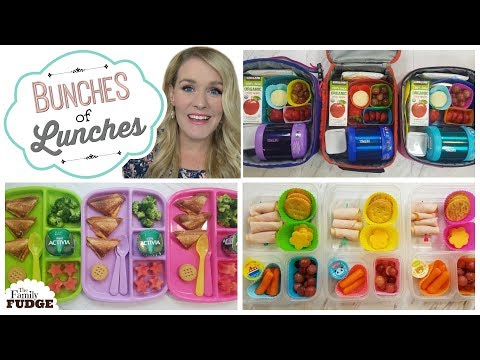 School Lunch Ideas || Bunches of Lunches Week 1
