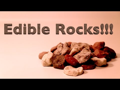 How To Make Edible Rocks Youtube