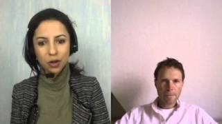 Matthias und Samar von Mumyfit im Gespräch über die Amazonas Darmreinigung