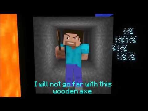 "Minecraft Song ""Diamond Sword"" Song With Lyrics"