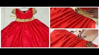 Frock  Cutting & Stitching In Tamil Very Simple & Easy to Make