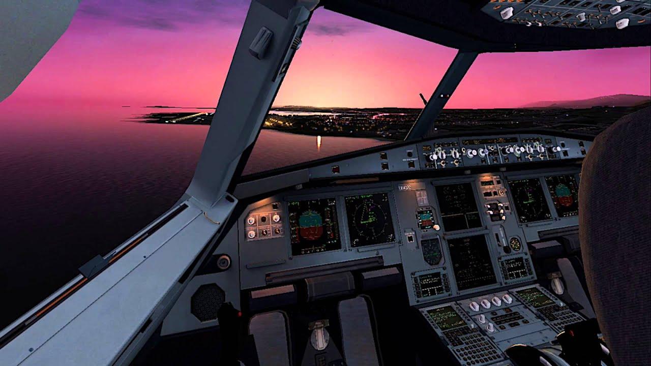 Cockpit A320 Jardesgin - Year of Clean Water