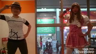 11/12 大須にて、だむさんコラボ第1弾!雅人くんとひかりちゃんでウィザ...