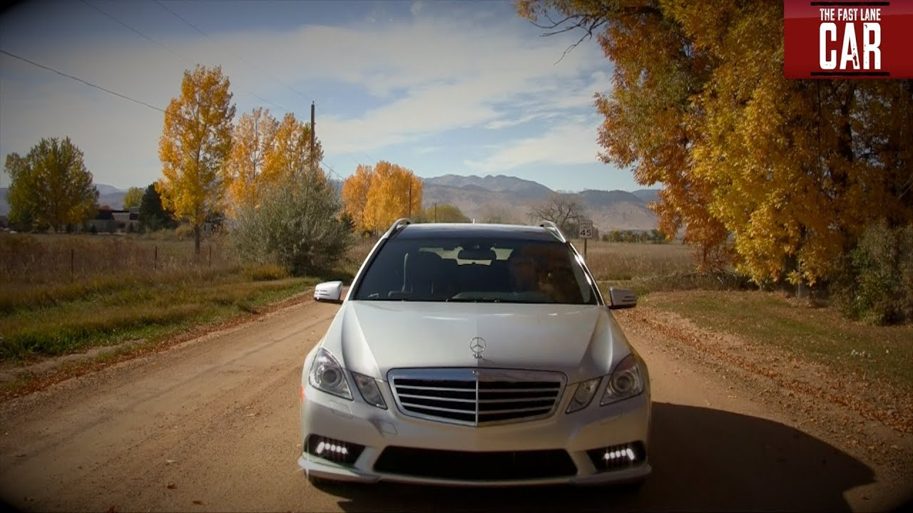 2011 mercedes-benz e350 4matic wagon review & drive - youtube