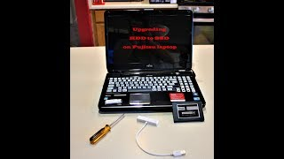 LIVE - Upgrading HDD to SSD on…