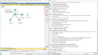 Lab 4.4.2.2 Packet Tracer - Configuring Wireless LAN Access