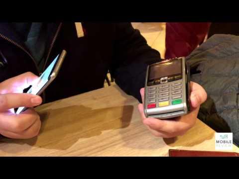 Пример оплаты при помощи Samsung Pay