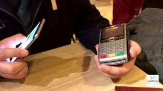 Приклад оплати за допомогою Samsung Pay