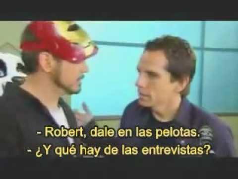 MTV Movie Awards 2008: Tropic Thunder video viral [Subtitulado español]