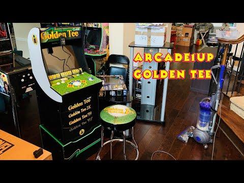 Golden Tee - Arcade1UP Cabinet from MRN Bricks