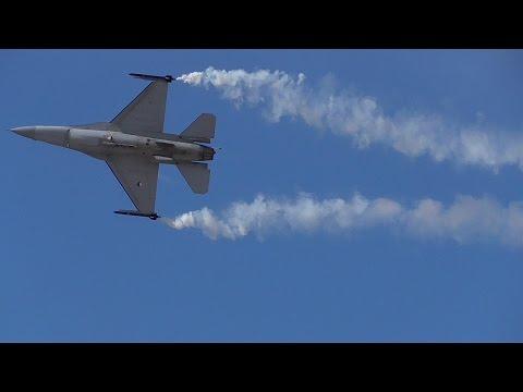 Athens Flying Week RNLAF F-16 Demo Team