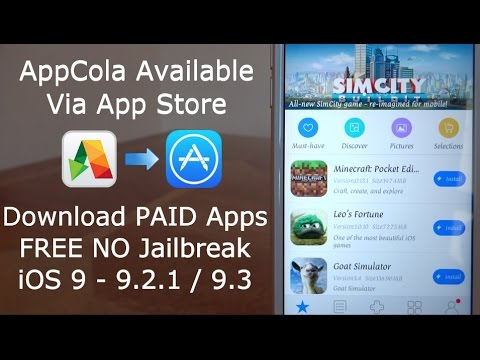 appcola in app store download paid apps free ios 9 10 11 11 2 5 no jailbreak iphone ipad ipod