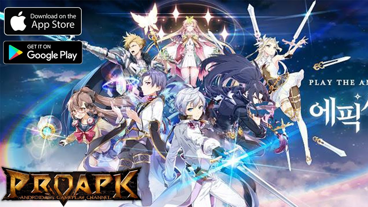 Epic Seven Gameplay Android / iOS (KR)