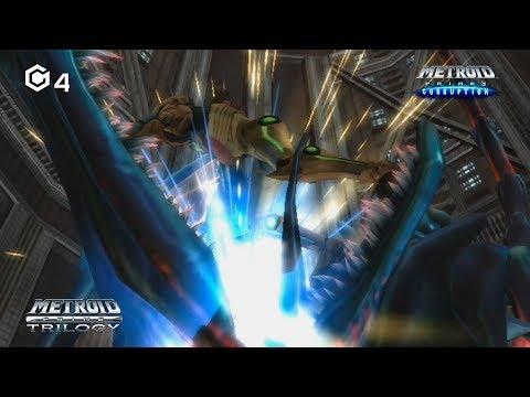 Metroid Prime Trilogy: Metroid Prime 3: Corruption (HD) (Part 4) - Meta Ridley