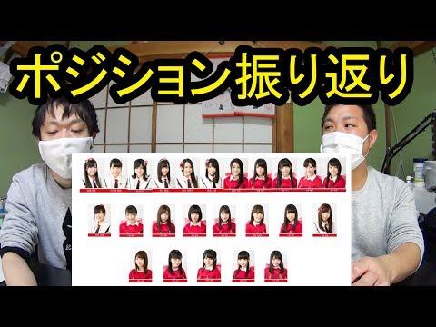 【NGT48】3rdシングルのポジションを振り返ろう!!【春はどこから来るのか?】