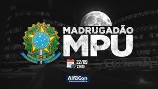Aulas Gratuitas - Madrugadão MPU! - AO VIVO - AlfaCon