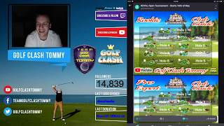 Golf Clash tips, Textguides for the Royal Open tournament - Walkthrough!