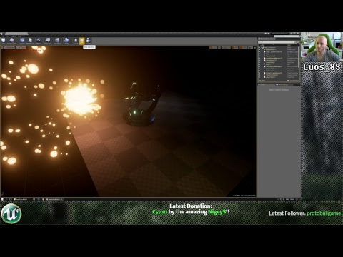 [UE4] Particle a day restructuring.