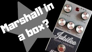 Alexander Jubilee Silver Overdrive Demo With Les Paul